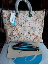 Gabs  Borsa A Mano G43 In Pelle Di Vitello. Multicolore fiori 43x37 x 1 cm