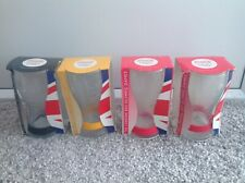 London Olympics 2012 McDonalds Coca Cola Glasses X4 With Wristbands Boxed Glass