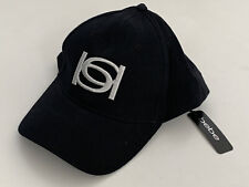NEW! BEBE SIGNATURE LOGO BLACK ADJUSTABLE BASEBALL CAP HAT ONE SIZE FITS ALL