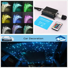 2017New Car Led Ceiling Light Fiber Optic Star Kit 270pcs 0.75mm 2M DIY 16W RGBW