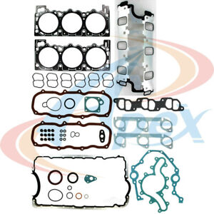 Engine Full Gasket Set-VIN: X, OHV Apex Automobile Parts AFS4049