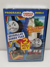 Thomas and Friends Estrella Sobre Vias And La Leche Batida Spanish DVD