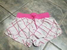 Saucony Womens Athletic Running Shorts Size Small gray pink