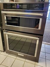 "KITCHENAID 30"" Combination Wall Oven Built-In Microwave KOCE500EBS"