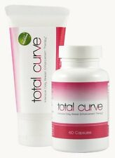 2 x Total Curve Female Breast Enhancement Pills and Gel Increase Size / Volume