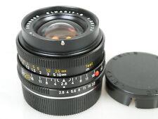 Leitz ELMARIT-R 2,8/28 Nr. 3039680 3-cam for SL-R7(R8/9) + Geli lens hood 12509