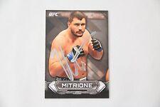 MATT MITRIONE SIGNED 2014 TOPPS UFC KNOCKOUT MMA AUTOGRAPH AUTO BELLATOR