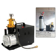 40Mpa High Pressure Air Pump Electric PCP Air Compressor for Airgun Scuba Rifle!