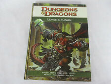 Dungeons & Dragons 4th Edition MONSTER MANUAL by WOTC!!
