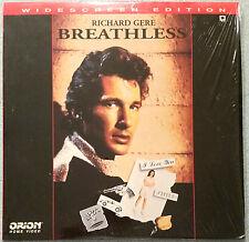 BREATHLESS LaserDisc widescreen Richard Gere