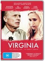 Virginia (DVD) Jennifer Connelly Ed Harris  [Region 4] NEW/SEALED