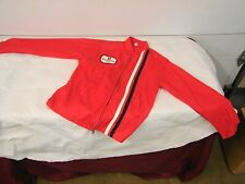 60s 70s VINTAGE MC CREARY  McCreary TIRE RED JACKET WINDBREAKER