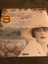 ENCHANTED APRIL - (1992) - LASERDISC TOWER RECORDS PRICE TAG