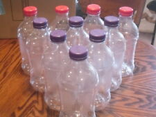 Clear Bottles 10 Empty V-8 Juice Containers Clean 46 Ounces @See My Other Items