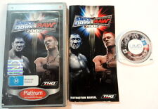 WWE SmackDown vs. Raw 2006 Portable Sony PlayStation PSP Game Wrestling