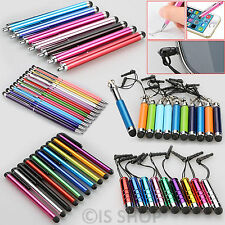 Universal Retractable Mini Stylus Ballpoint Pen For Samsung HTC LG iPhone iPad 5
