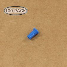 Plastic Universal Dust Cap for 1.25mm Ferrules. Fits LC, MU. 100 pcs/pack, Black