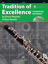 Tradition Of Excellence-Oboe Music Book & Internet Access Level 3-Brand New Sale