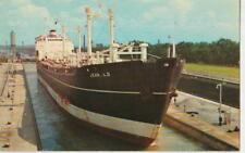 Jean L.D. Lake freighter Welland Canal Thorold Ontario Chrome Unused - Very Good