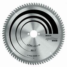 Bosch Optiline Wood circular saw blade 250 x 30 x 3,2mm, 40 (2 608 640 643) 2...
