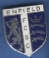 Enfield Football Club Supporters Club enamel lapel badge