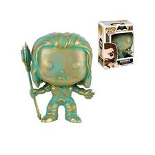 Funko Pop! Vinyl New * Aquaman Patina * 87 EE Convention Exclusive Action Figure