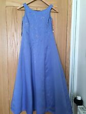 Forever Yours Age 10 Cornflower Bridesmaid Dress New Without Tag