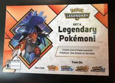 Gamestop EXCLUSIVE Kyogre & Groudon 2018 Pokemon Event Code Sun & Moon USUM
