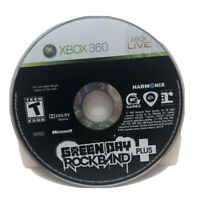 Green Day: Rock Band Plus Xbox 360 Game Disc 1T-kids Super Rare Music