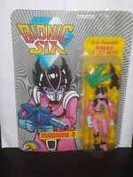 Bionic Six Madame-O Vintage 1986 Action Figure NEW MOSC! Unpunched Nice LJN C9 6