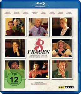 8 Frauen [Blu-ray/NEU/OVP] von François Ozon mit Catherine Deneuve, Isabelle Hup