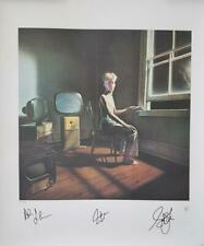 RUSH - Full Band Signed Autographed POWER WINDOWS Lithograph #410/500