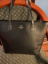 Kate Spade Black Leather Tote