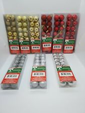 Christmas Decorations Ornaments Small Balls 16ct For Christmas Tree