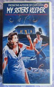 MY SISTERS KEEPER VHS PAL AVATAR EX RENTAL, PETER 'ROBOCOP' WELLER, KATHY BAKER