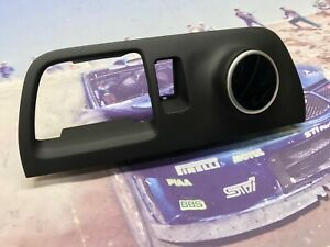 05 07 Subaru Impreza Wrx Center Dash Air Vent Trim Single Gauge Pod 52mm RHD