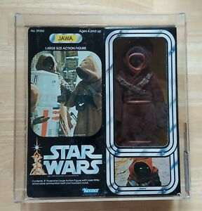 "Vintage Star Wars JAWA LARGE SIZE 12"" Figure doll AFA 80 80/85/85 12 back 1978"