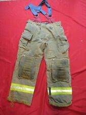 Mfg 2011 Morning Pride 38 X 32 Fire Fighter Turnout Pants Bunker Gear Suspenders