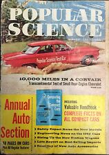 1960 Popular Science January Back Issue Magazine