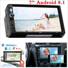 "2Din Android 8.1 7"" 1080P Touch Screen Car Stereo Radio GPS Wifi FM MP5 Player"