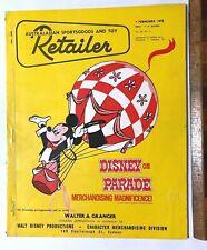 VINTAGE SPORTS & TOY RETAILER MAGAZINE 1976 TOLTOYS GABRIEL LONE RANGER FIGURES!