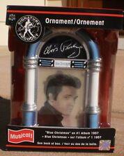 """Elvis Presley """"Blue Christmas"""" Jukebox Musical American Greetings ornament"""