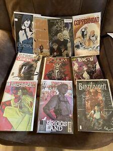 10 Comic Book Lot Indie Image Action Labs IDW Dark Horse Comics Random