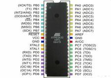 ATMega 32-16PU Atmel ATMega32 AVR Controller DIP40