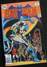 BATMAN 282 (1976) BATMAN EMBROILED ABROAD! HIGHER GRADE! LARGE PHOTOS!