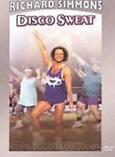 Richard Simmons - Disco Sweat DVD Brand New Sealed Great Songs!