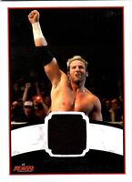 WWE Zack Ryder 2012 Topps Authentic Event Worn Shirt Relic Card Black DWC2