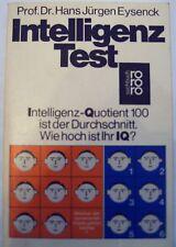 Intelligenz Test, Prof.Dr.Hans Jürgen Eysenck, 1985