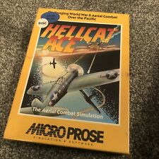 Hellcat Ace - Atari Home Computers - Factory Sealed - Please Read - Free Postage
