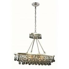Elegant Lighting Bettina Polished Nickel Four-light Pendant - 1509D34PN